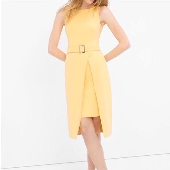 8bc05823335 Yellow structured dress. M 5bbf7d48035cf18c0e060537